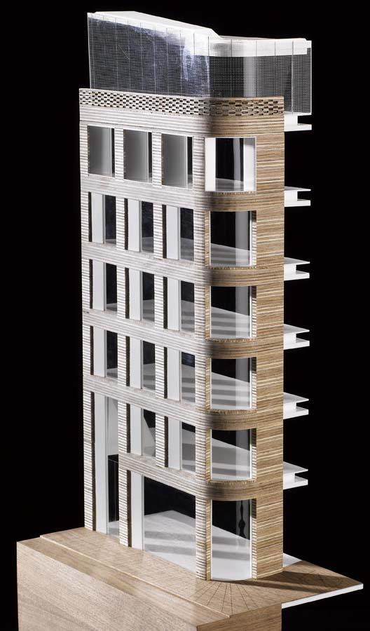 Turnmill Elevation, London