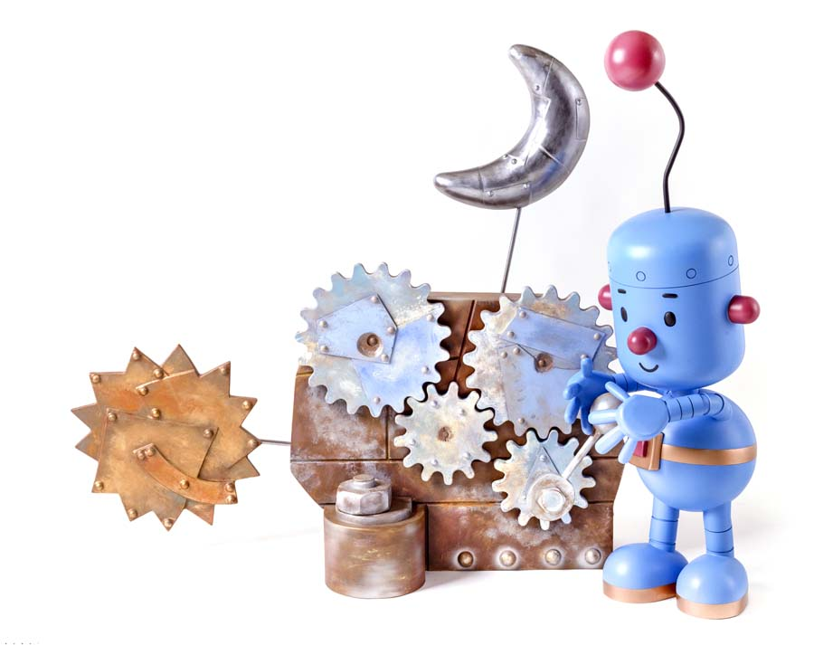 Little Robot: Sun and Moon