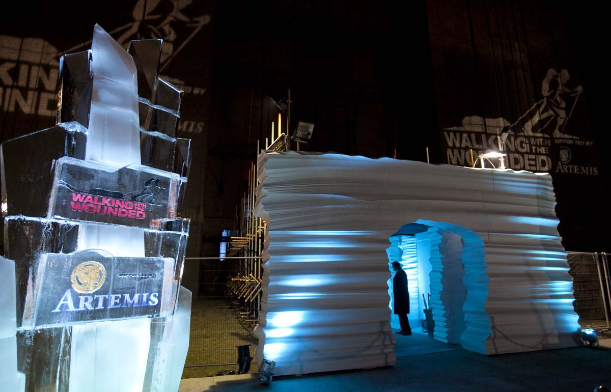 Poly Tunnel for Ice & Diamonds Ball