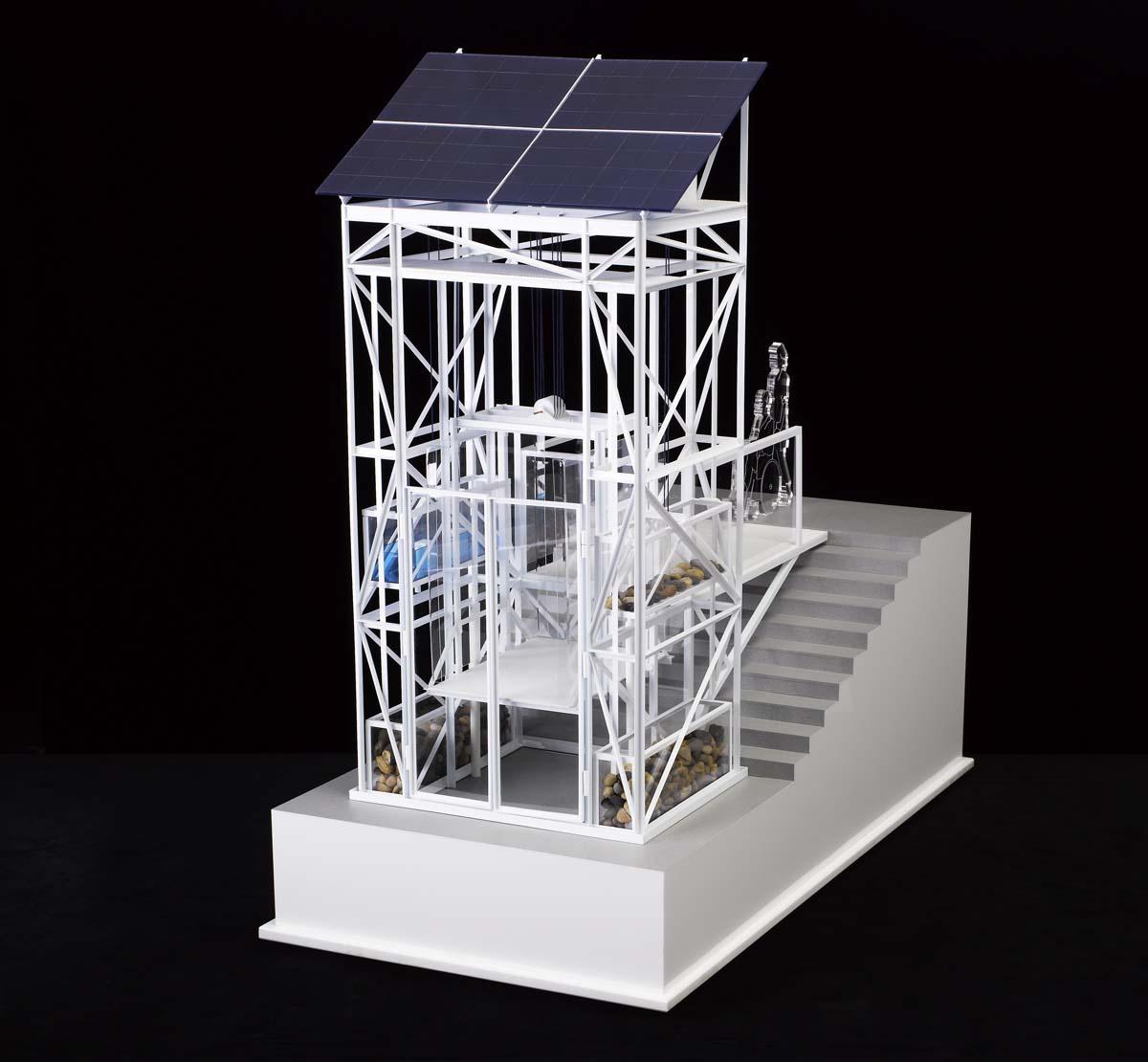 Water Lift: Scale Model, London