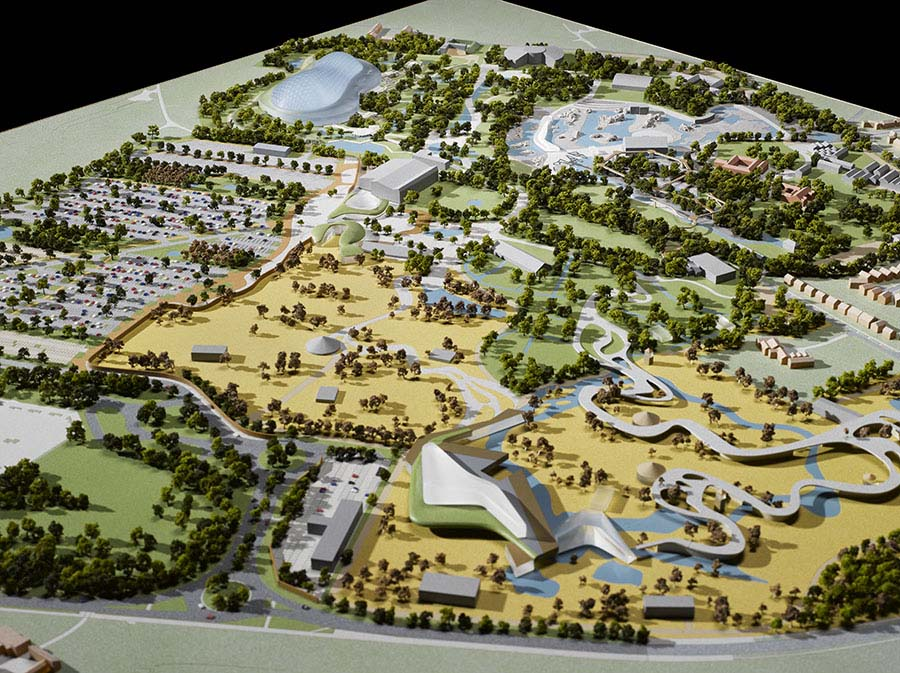 Heart Of Africa Chester Zoo Capital Models - Heart-of-africa-biodome-at-chester-zoo