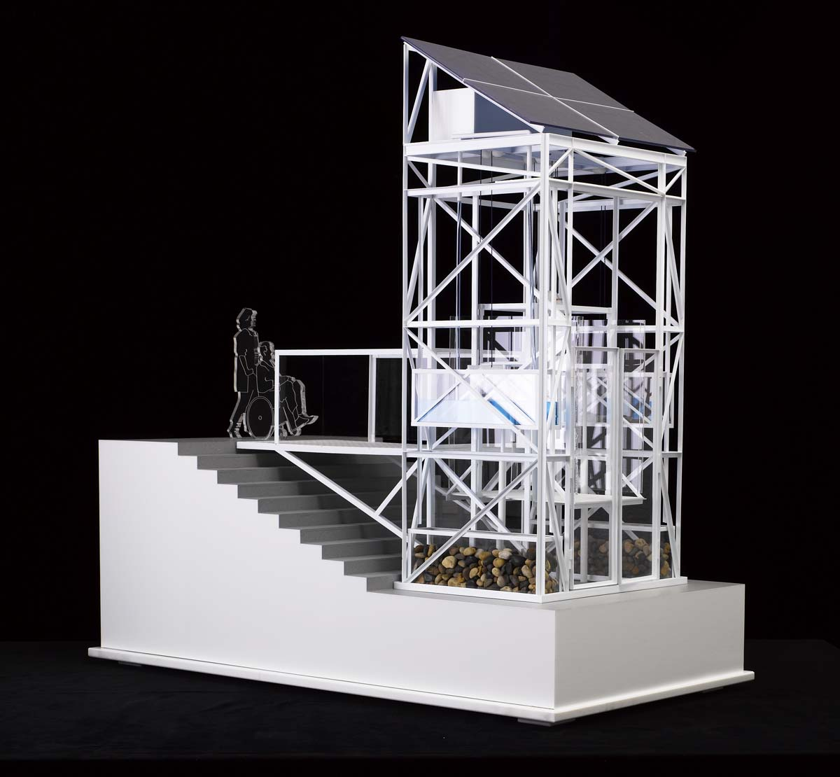 Water Lift: Scale Model, London