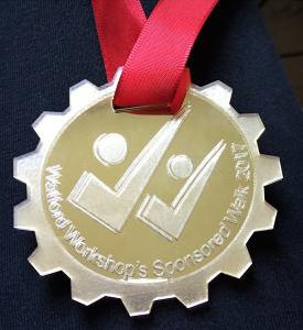 Watford Workshop medal