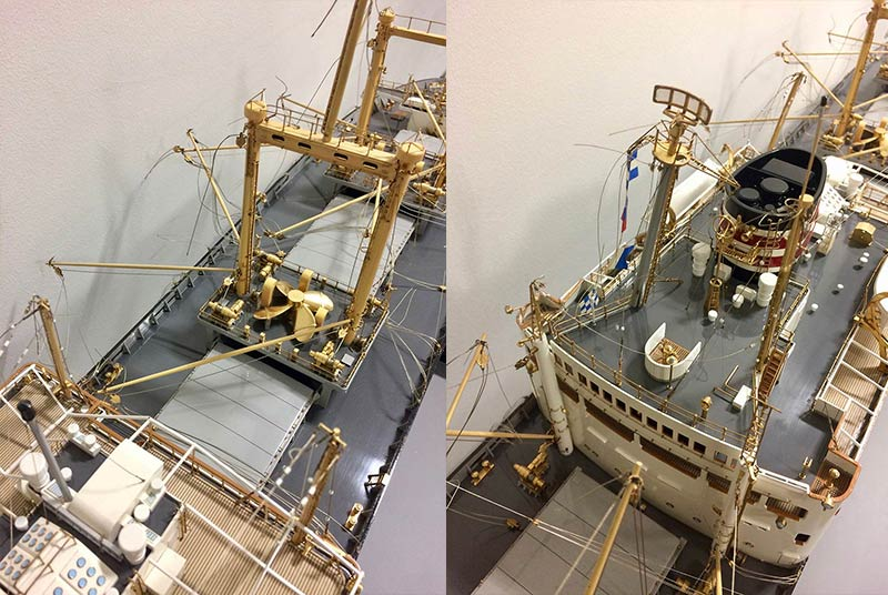 ship model making, capital models