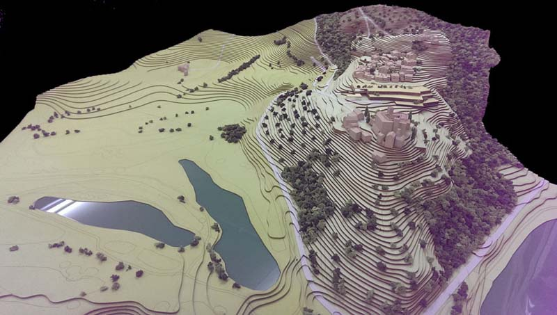 topography model making