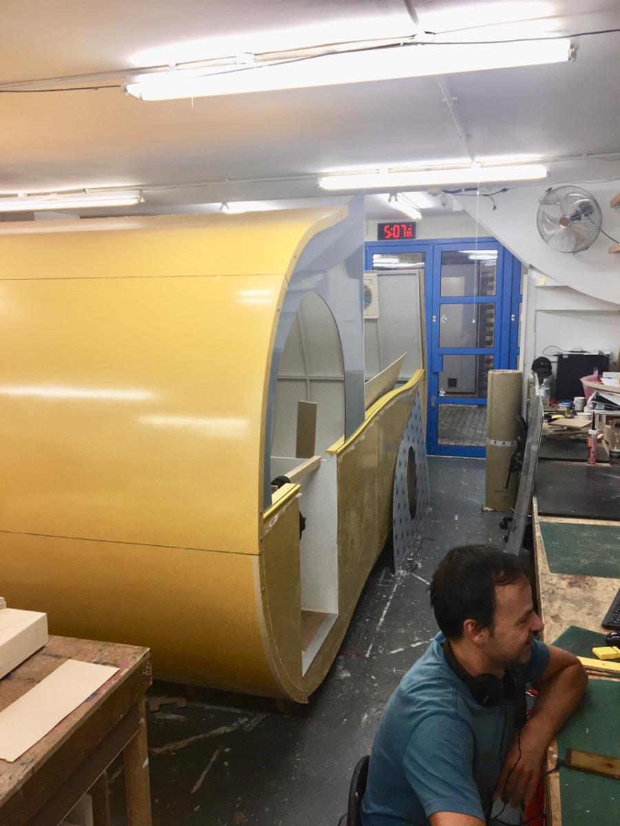Bema's Bright Yellow Pod