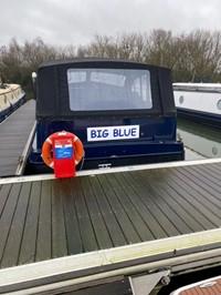 Big Blue boat