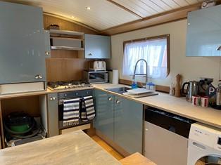 sailaway barge kitchen